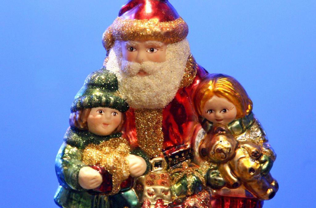 """""""Santa Claus Is Coming to Town"""": Der Weihnachtsmann liebt Kinder, und Kinder lieben ihn  – und seine Geschenke. Foto: dpa"""
