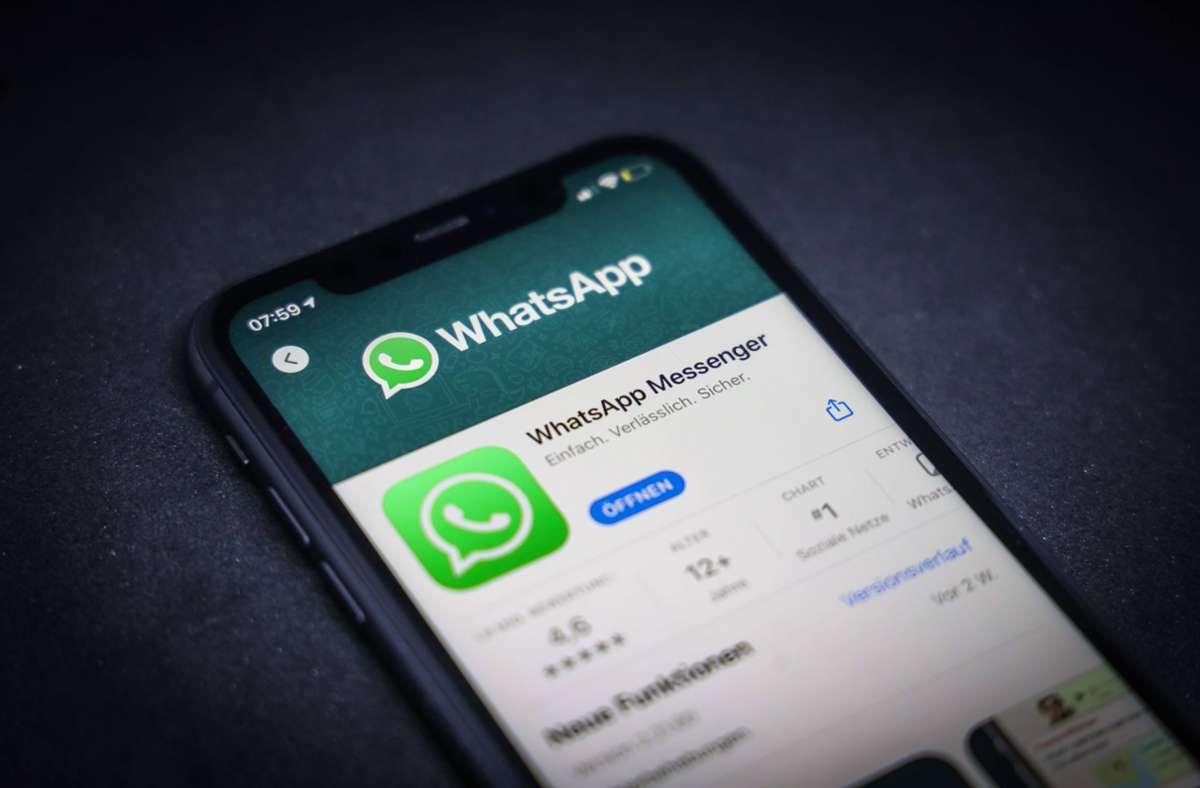 Aufgrund eines Bugs können manchen Samsung-Nutzer derzeit keine Bilder mehr via WhatsApp versenden. Foto: imago images/Rüdiger Wölk via www.imago-images.de