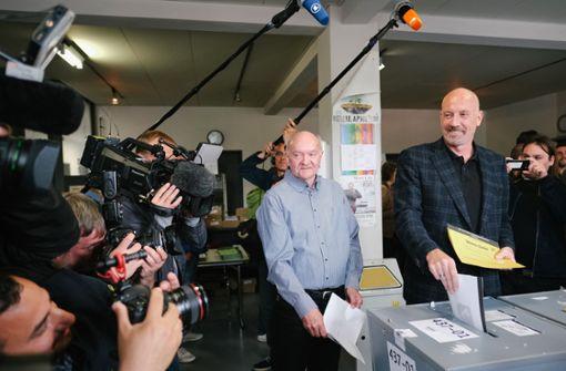 CDU laut Prognose knapp vor SPD