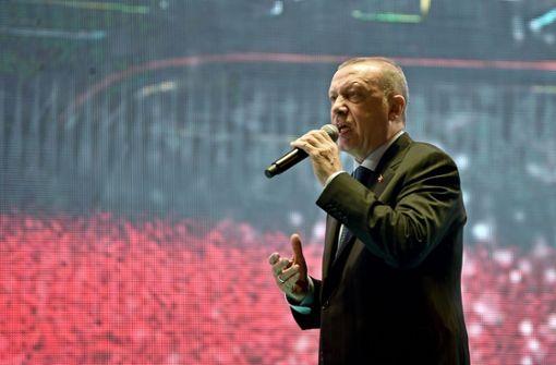 Erdogan begrüßt Entscheidung des Fußballers