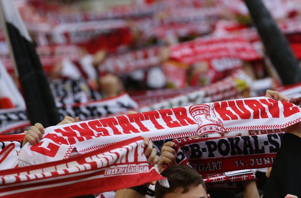 Die Fans des VfB sind auch im weltweiten Vergleich herausragend Foto: Baumann