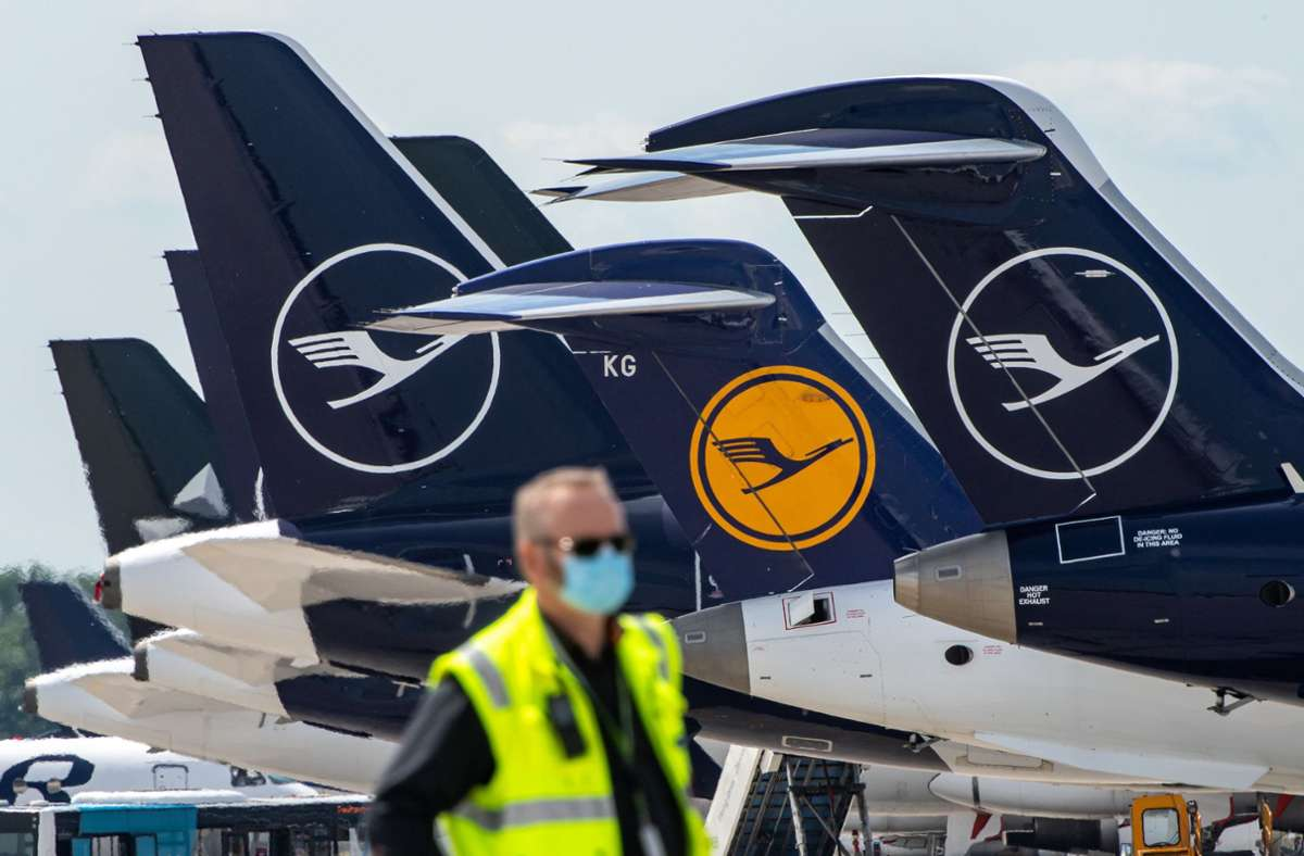 Das Coronavirus setzt Lufthansa enorm zu. Foto: dpa/Peter Kneffel
