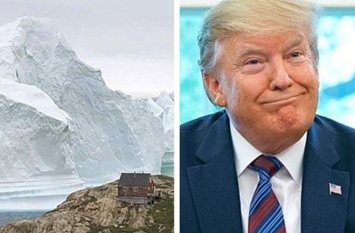 Donald  Trump  erwägt Kauf Grönlands