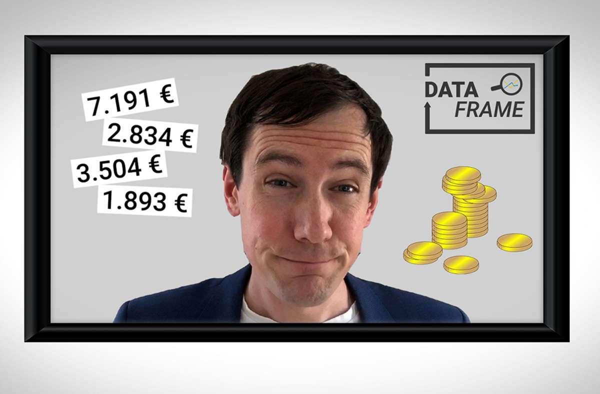 Unser Datenexperte Jan Georg Plavec hat sich das Durchschnittseinkommen in Baden-Württemberg näher angeschaut. Foto: red
