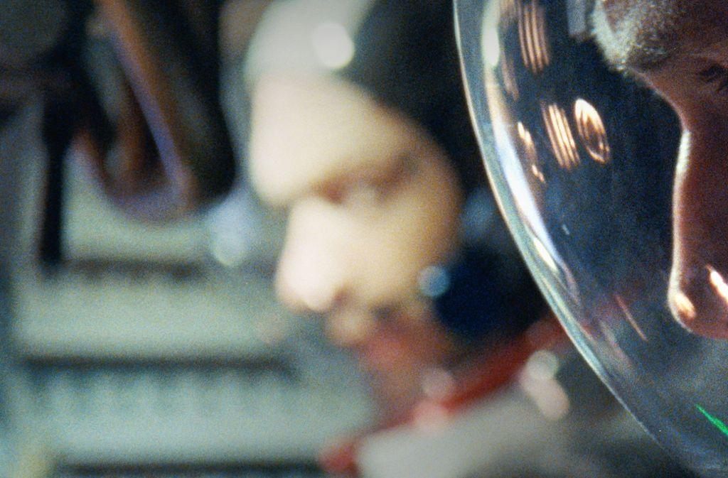Ganz nah kommen die Zuschauer den Astronauten Foto: Verleih