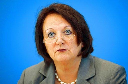 Bei  Steuer-CDs ist  die Ministerin einsam