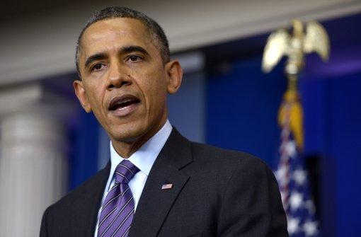 Obama sieht Land am Abgrund