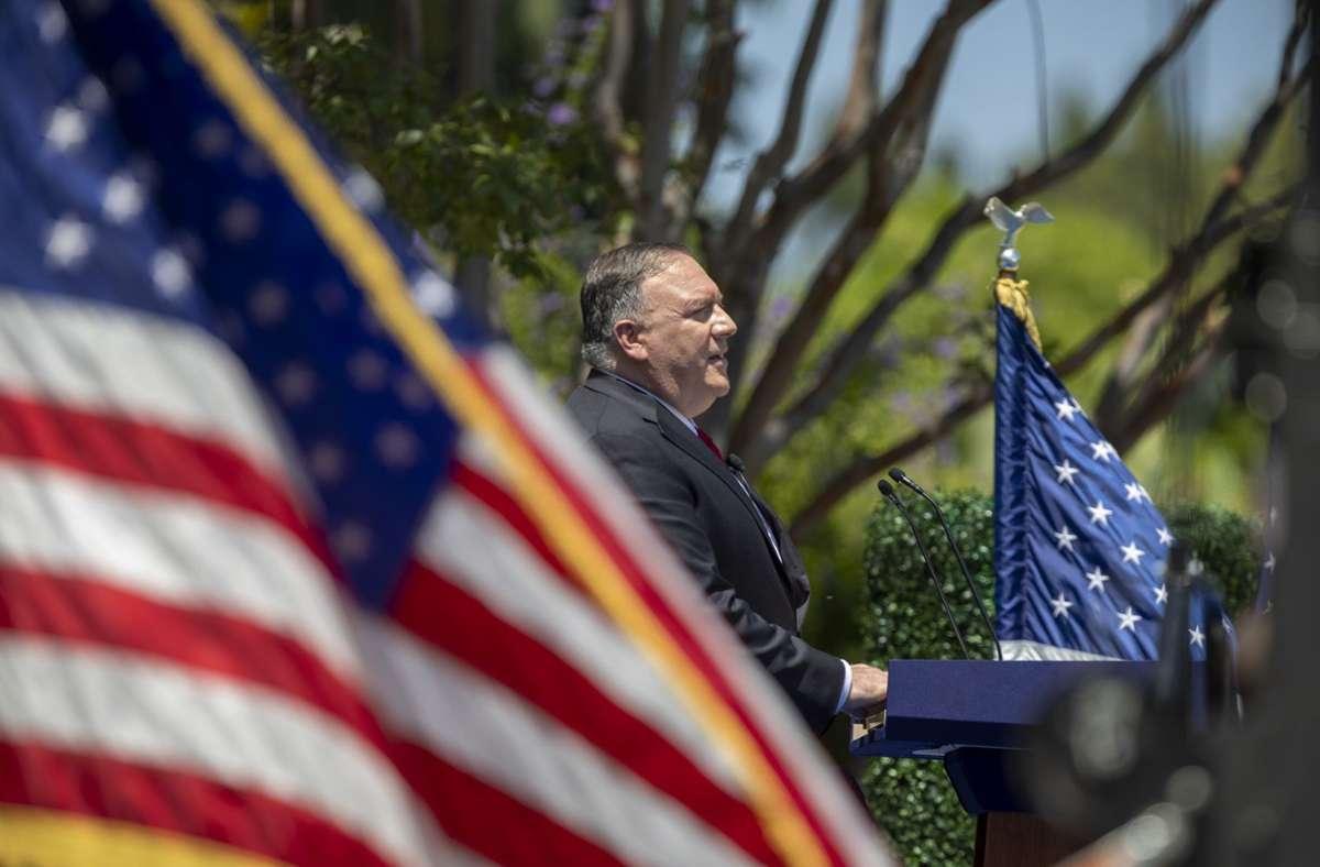 US-Außenminister Mike Pompeo hat seinen Besuch angekündigt – aber nicht in Deutschland. Foto: AFP/DAVID MCNEW