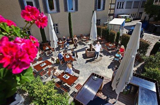"""Die Stadt besitzt  einen neuen """"mediterranen Biergarten"""""""