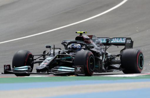 Bottas verhindert 100. Pole Position für Hamilton