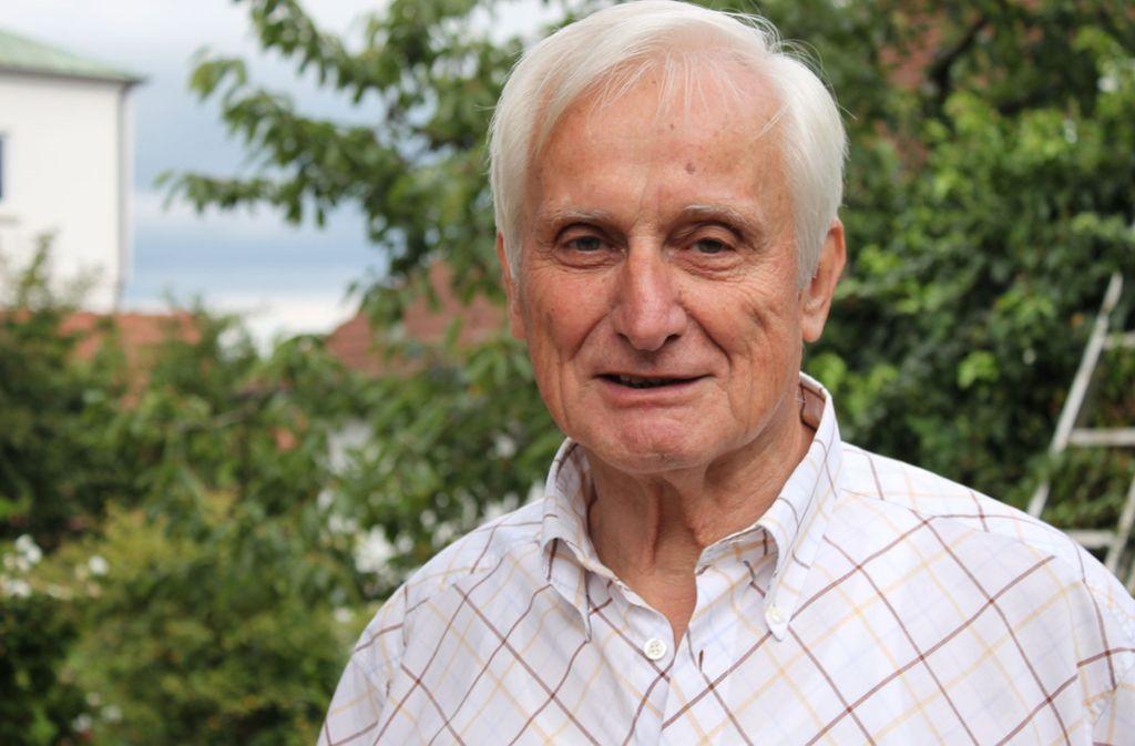 Für ausreisepflichtige Flüchtlinge die letzte Instanz: Edgar Wais, der frühere Chef des Landkreistags, ist seit mehr als zwölf Jahren Vorsitzender der Härtefallkommission. Ende März läuft seine Amtszeit aus. Foto: dpa