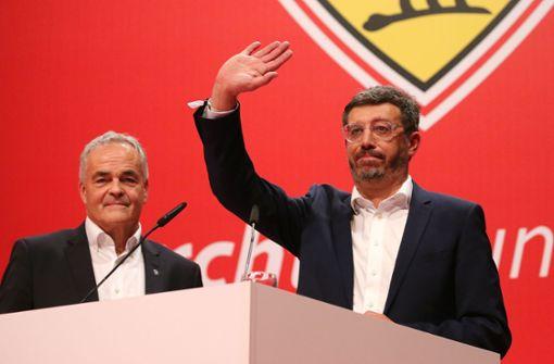 So lief die Mitgliederversammlung des VfB Stuttgart
