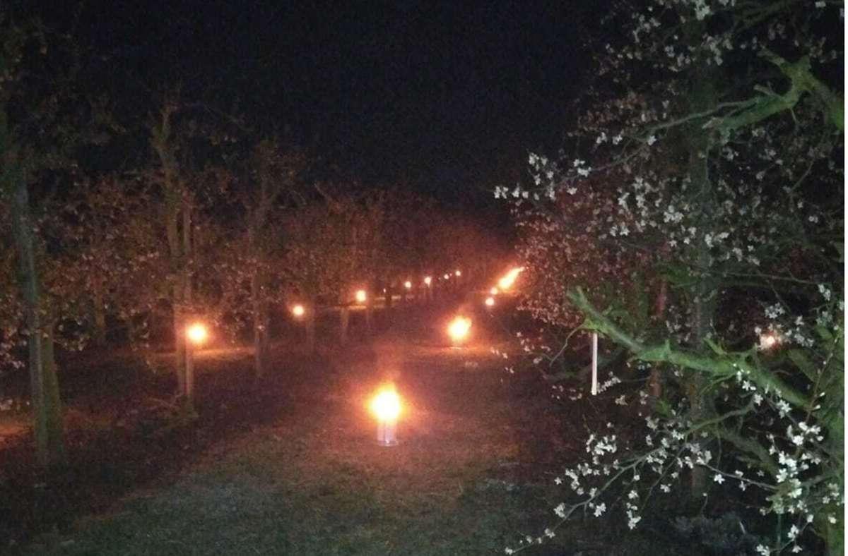 ...Obstbauern kämpfen mit einer ganz speziellen Methode dagegen an.  Foto: privat