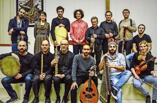 Musiker verbinden den  Orient mit dem Okzident