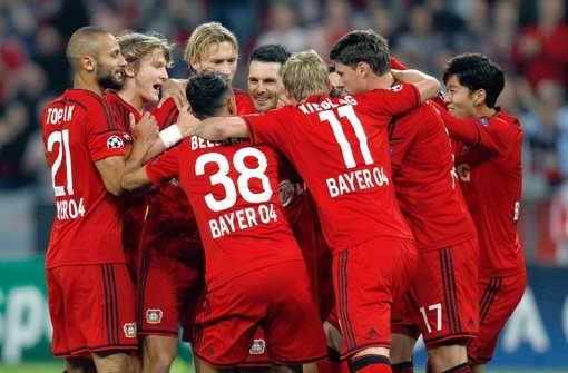 Bayer Leverkusen stürmt in die Champions League