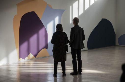 Florina Leinß zeigt  freundliche Farben
