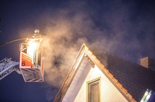Brand in Möhringer Zweifamilienhaus