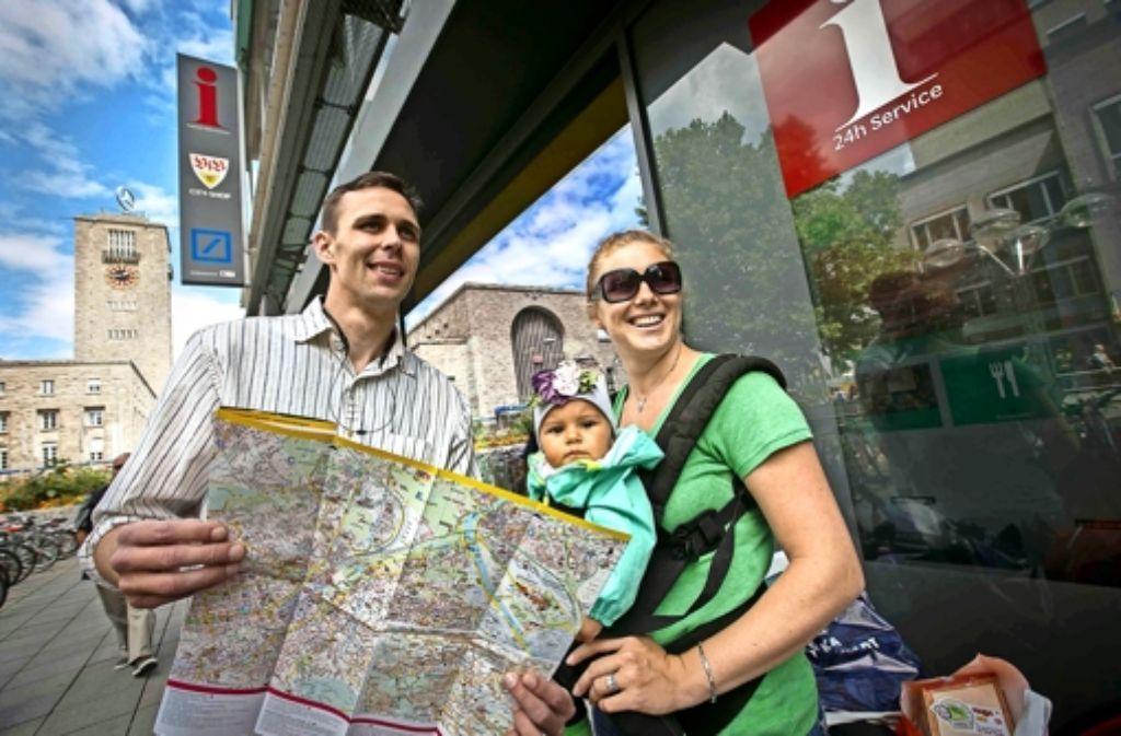 Nicht nur Geschäftsreisende, auch Familien kommen gezielt nach Stuttgart. Foto: Steinert