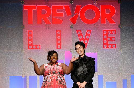 Bekannte Gesichter auf der Spendengala Trevor Live