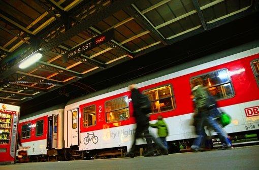 Das Nachtzugnetz wird ausgedünnt und soll nun bis 2016 rentabel werden. Foto: Bahn