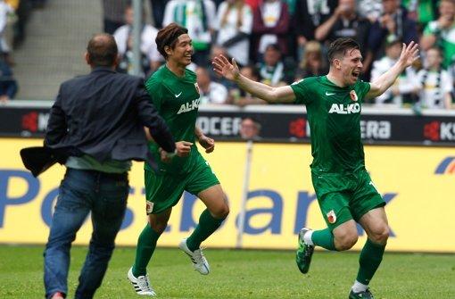 Augsburg landet auf Europa-League-Platz