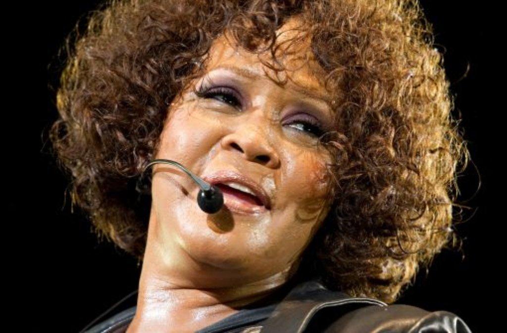 Whitney Houston ist am Sonntag gestorben. Foto: dpa