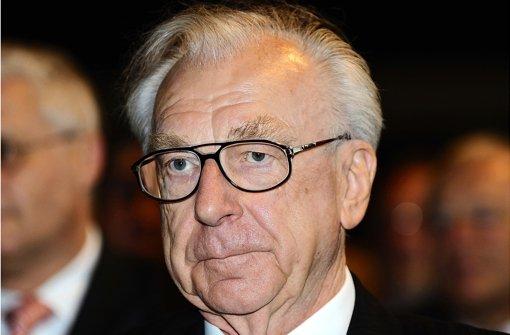 Lothar Späth war von 1978 bis 1991 Ministerpräsident des Landes Baden-Württemberg. (Archivfoto) Foto: dpa
