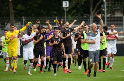 So sieht das Auftaktprogramm für den VfB Stuttgart aus
