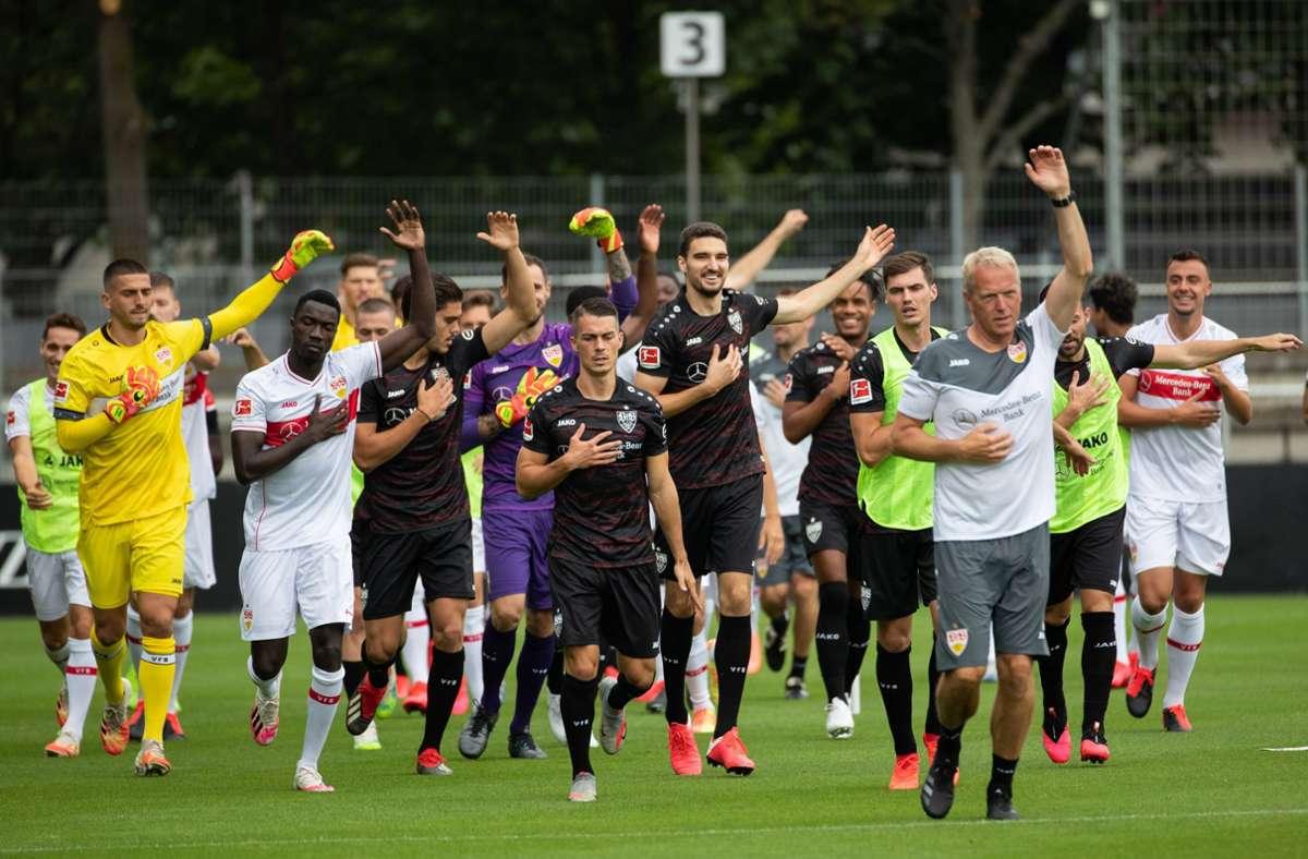 Die Spieler des VfB Stuttgart wissen nun, wann sie es mit welchem Gegner zu tun bekommen. Foto: dpa