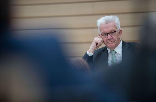Autogipfel mit Ministerpräsident Kretschmann wird verschoben