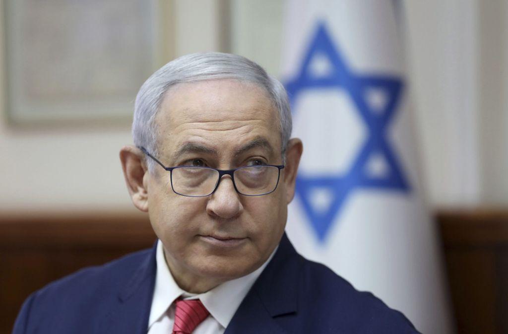 Benjamin Netanjahu ist amtierender Regierungschef – noch. Foto: dpa/Abir Sultan
