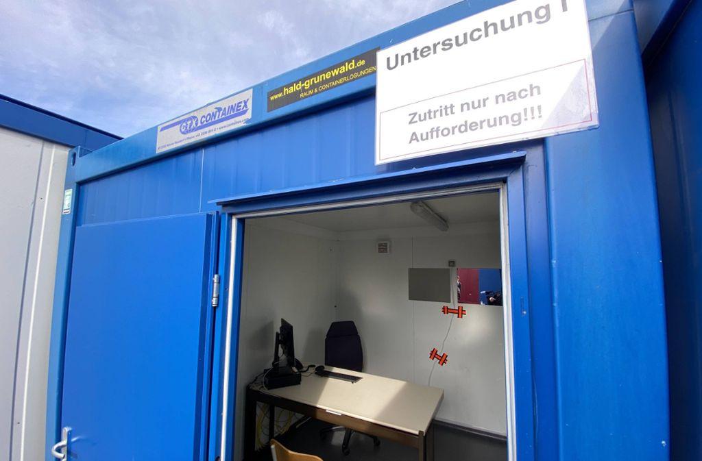 Das erste Testzentrum im Land ist in Herrenberg eingerichtet worden. Foto: 7aktuell.de/Alexander Hald