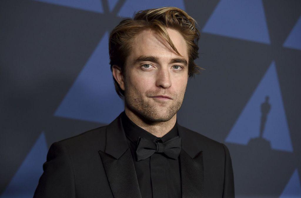 Robert Pattinson ist nun erstmals in seinem Batman-Look zu sehen. Foto: AP/Jordan Strauss