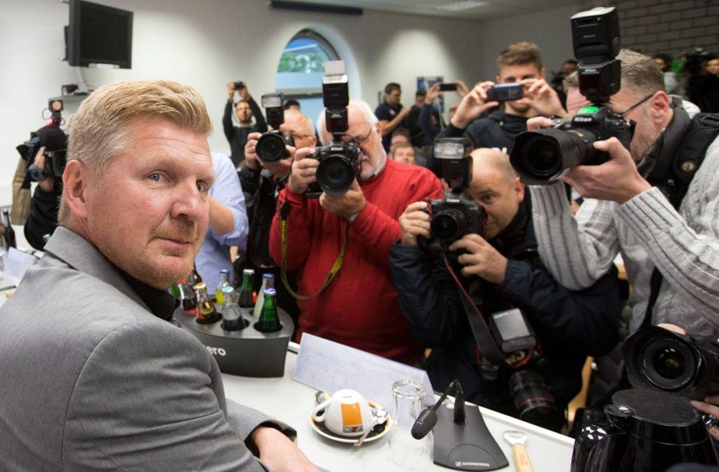 Stefan Effenberg soll angeblich Mitarbeiter einer Bank werden. Foto: dpa