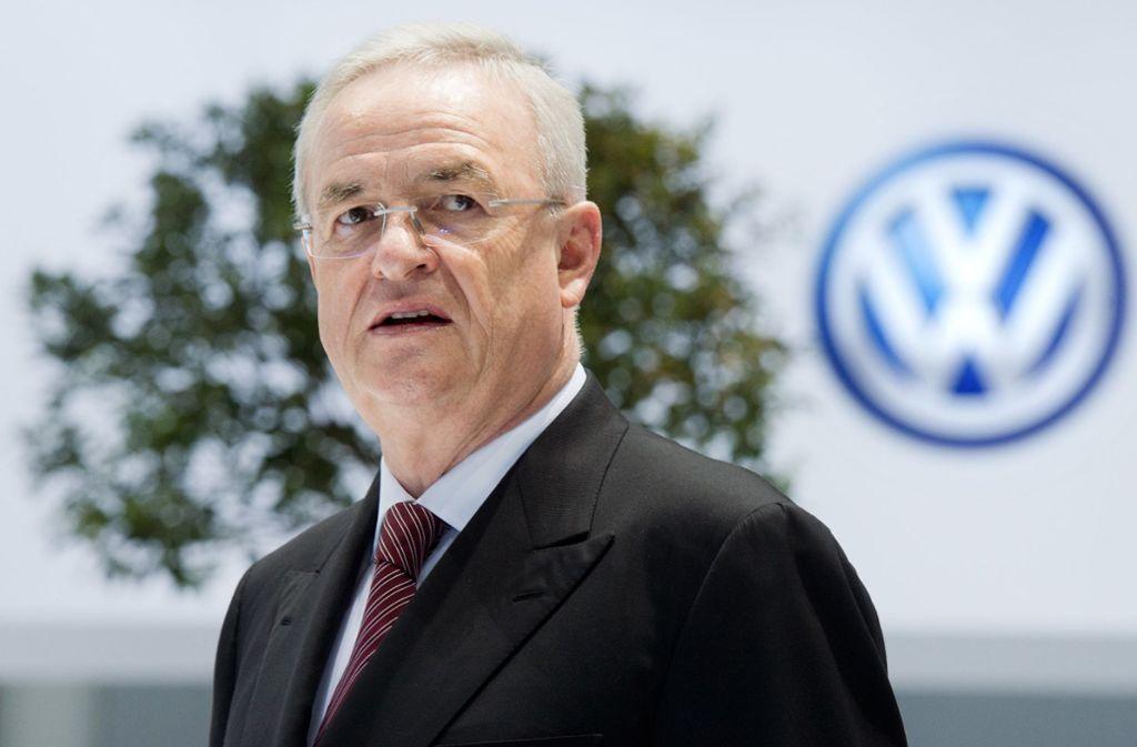 Keine schönen Aussichten für Martin Winterkorn: die Staatsanwaltschaft Braunschweig klagt den ehemaligen VW-Chef wegen Betrugs an. Foto: dpa