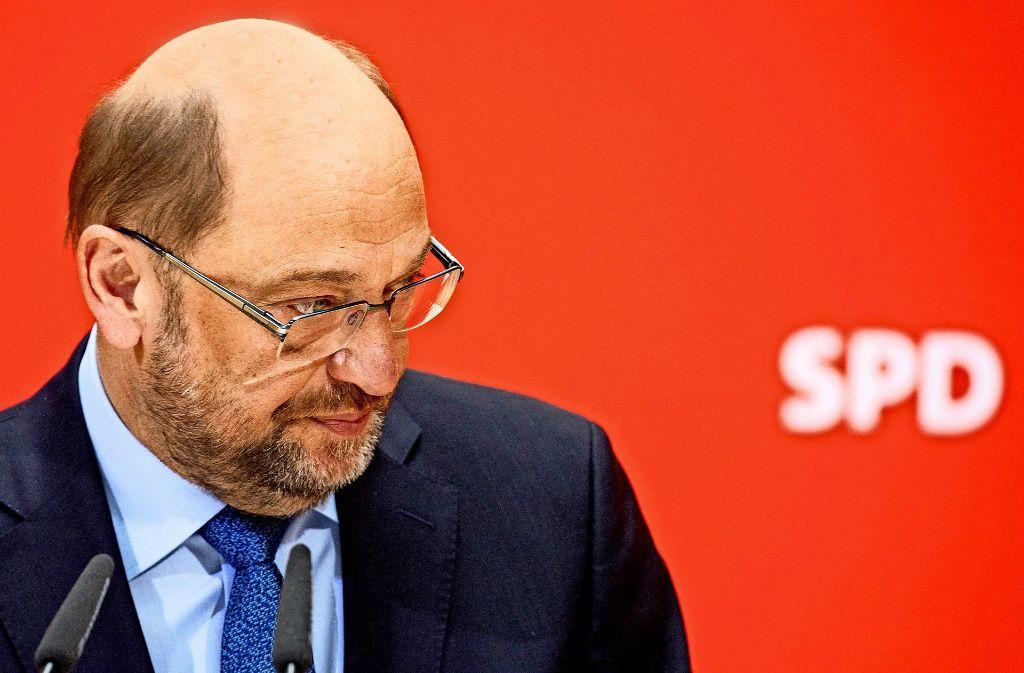 Bereit zu kämpfen, aber noch ohne zündende Idee: Martin Schulz Foto: dpa