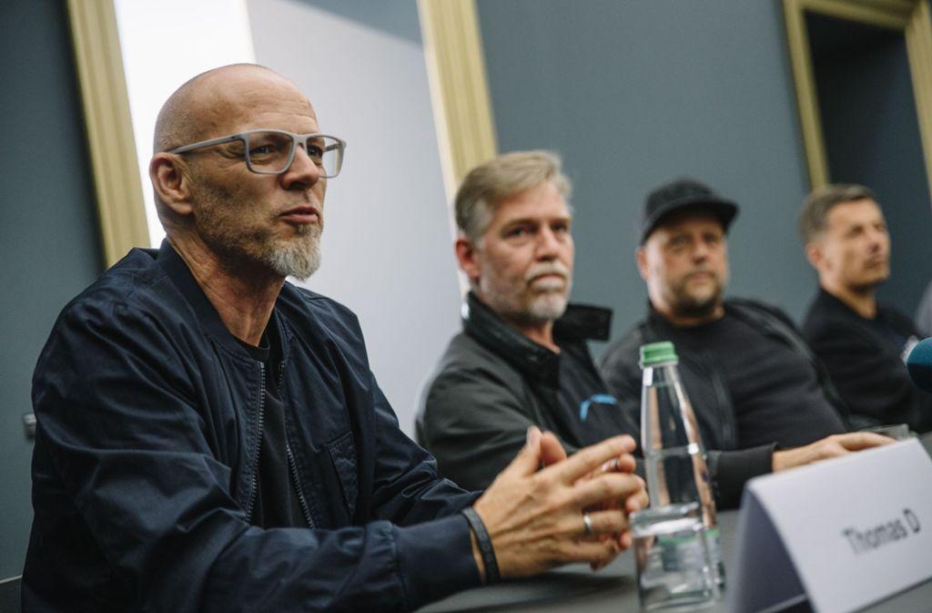 Die Fantastischen Vier stehen in den Startlöchern Foto: Lichtgut//Leif Piechowski