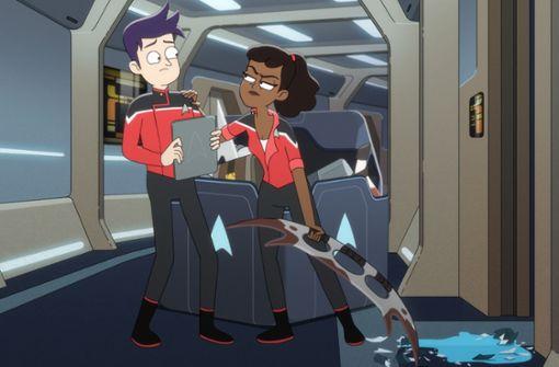Eitle Captains und bockige Aliens