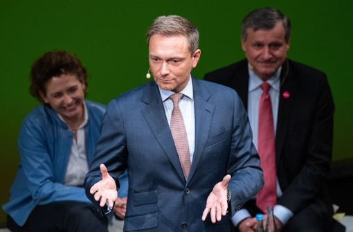 Die One-Man-Show des Christian Lindner