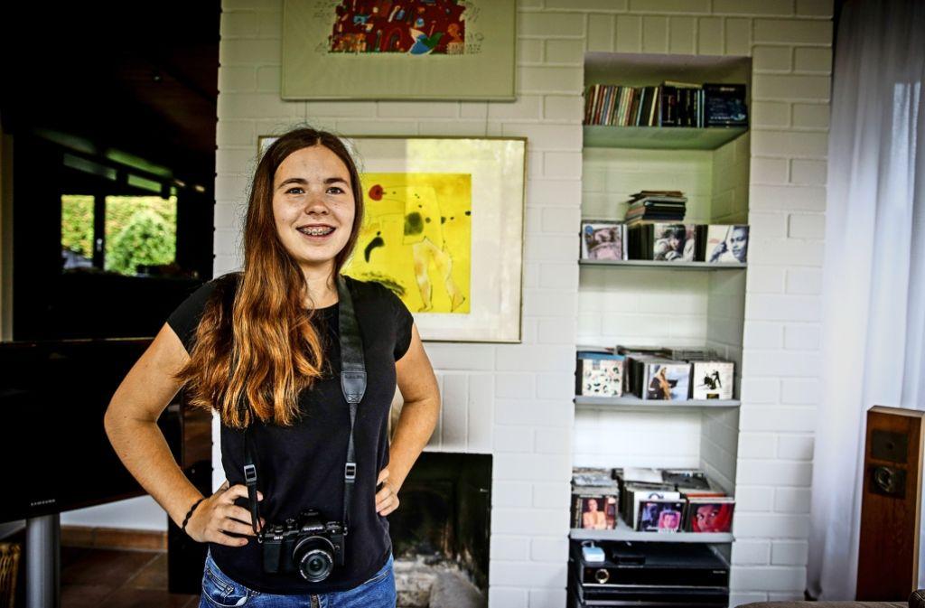 Pauline hat mit ihrer Kamera Flüchtlingsschicksale dokumentiert. Foto: Lg/Piechowski