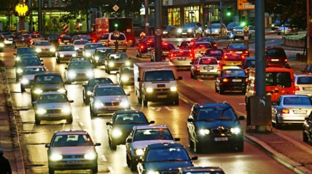 Der motorisierte Pendelverkehr ist gegenüber 2013 leicht gesunken. Foto: Lg/Leif Piechowski