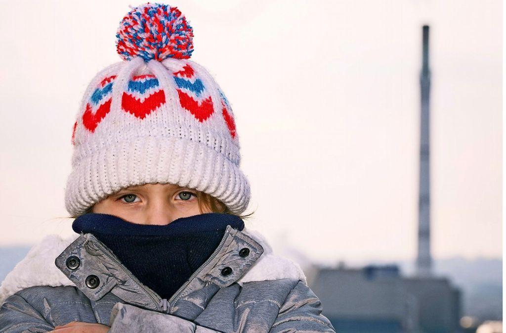 Der Wind machte die Kälte gefühlt noch schlimmer. Foto: Lichtgut/Max Kovalenko