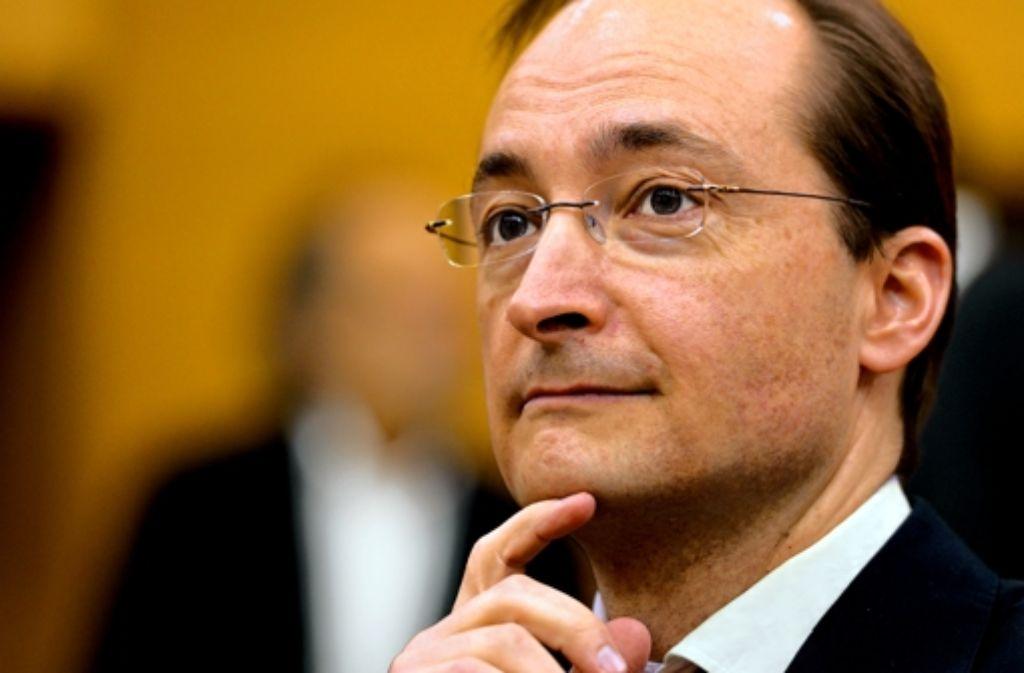 Seit 2009 war er Vorstandsvorsitzender, nun geht er: Dirk Notheis Foto: dapd