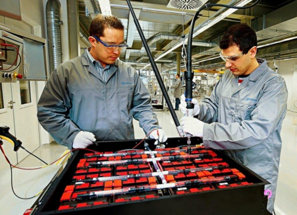 260 Beschäftigte sind für SB Limotive  in Deutschland tätig. Foto: Bosch
