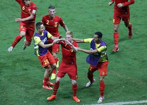 Belgien eine Runde weiter