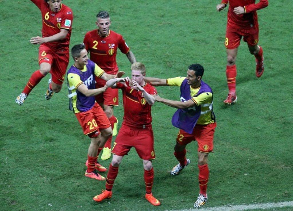 Kevin De Bruyne erzielte das erlösende 1:0. Foto: dpa