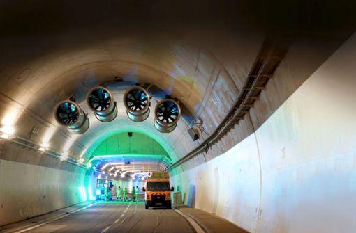 Tunnelröhren kosten jetzt 456 Millionen Euro Euro