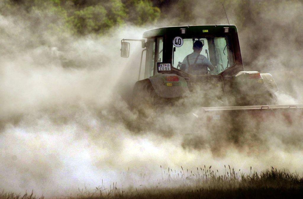 Weil ein Hund auf seinem Feld gelaufen sein soll, ist ein Landwirt völlig ausgerastet (Symbolbild). Foto: dpa