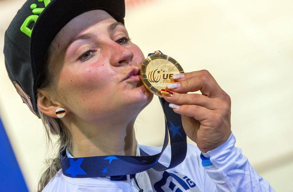 Schwerer Schicksalsschlag für Kristina Vogel: Die 27-jährige Olympiasiegerin ist querschnittsgelähmt. Foto: dpa-Zentralbild