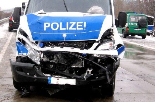 11.12.: Unfall mit Streifenwagen